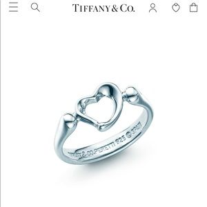 Tiffany and Co's Open heart ring